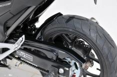 Φτερό Πίσω Τροχού NC 700 S Ermax 2012-2013 Honda Μαύρο Άβαφο Πλαστικό