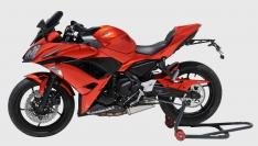 Προέκταση Μπροστινού Φτερού Ninja 650 Ermax 2017-2019 Kawasaki Μαύρη