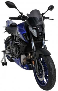 Ζελατίνα MT 07 Ermax Κοντή 2021 Yamaha Σκούρο Φιμέ 35cm