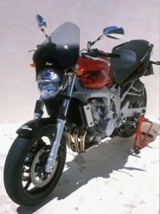 Ζελατίνα Fazer 600 FZ6 Ermax Ψηλή 2004-2007 Yamaha Ελαφρώς Φιμέ 40cm