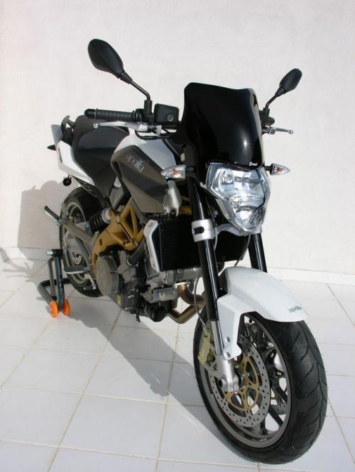 Ζελατίνα Shiver 750 Ermax Sport 2007-2010 Aprilia Σκούρο Φιμέ 28cm