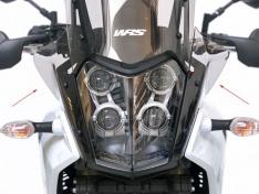 Προστατευτικά Flaps Tenere 700 2019-2021 WRS Yamaha Dark Smoked