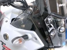 Προστατευτικά Flaps Tenere 700 2019-2021 WRS Yamaha Διάφανα