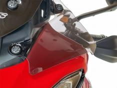 Deflectors Multistrada V4 / S 2020-2021 WRS Ducati Dark Smoke