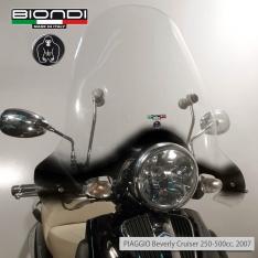 Ζελατίνα Beverly Cruiser 250/500 2007 Piaggio Biondi Ψηλή Διάφανη 66x76cm