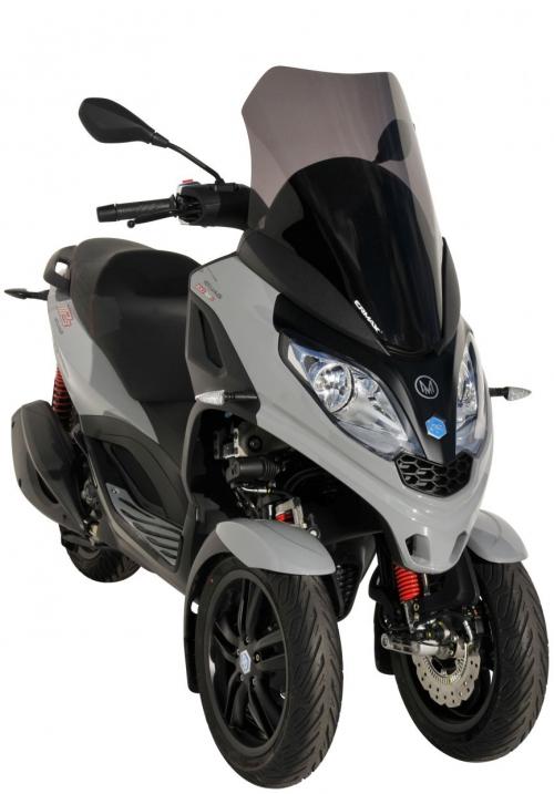 Ζελατίνα MP3 300 HPE  Ermax Κοντή 2019-2020 Piaggio Σκούρο Φιμέ 60cm