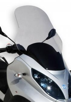 Ζελατίνα MP3 300 Ermax Ψηλή 2007-2012 Piaggio Ελαφρώς Φιμέ 74cm