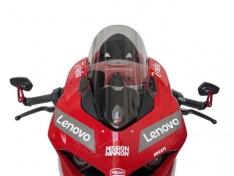 Ζελατίνα Panigale V4 / S WRS 2018-2020 Ducati Smoked