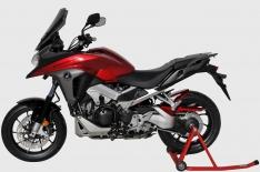 Φτερό Πίσω Τροχού VFR 800 X Crossrunner Ermax 2015-2019 Honda Μαύρο Άβαφο Πλαστικό