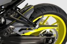 Φτερό Πίσω Τροχού MT 07 Ermax 2014-2017 Yamaha Μαύρο Άβαφο Πλαστικό