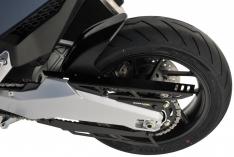 Φτερό Πίσω Τροχού Forza 750 Ermax 2021-2022 Honda Μαύρο Άβαφο Πλαστικό