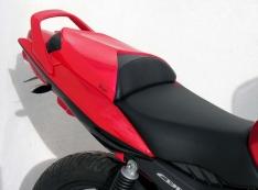Μονόσελο CBF 125 Ermax 2009-2014 Honda Μαύρο Άβαφο Πλαστικό