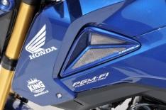 Αεραγωγοί Ψυγείου MSX 125 Grom Ermax 2013-2015 Honda Μαύροι