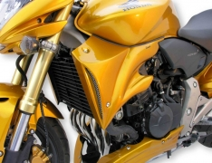 Αεραγωγοί Ψυγείου CB 600F Hornet Ermax 2007-2010 Honda Μαύροι