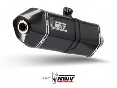 Τελικό Εξάτμισης Mivv Speed Edge Μαύρο V85 TT 2019-2020 Ανοξείδωτη