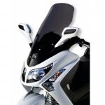 Ζελατίνα GTS 250/300 Evo Ermax Ψηλή 2009-2012 Sym Ελαφρώς Φιμέ 64cm