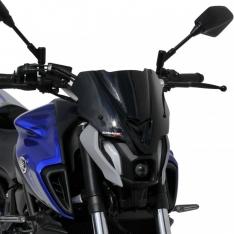 Ζελατίνα MT 07 Ermax Κοντή 2021 Yamaha Σκούρο Φιμέ 25cm