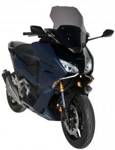 Ζελατίνα Forza 750 Ermax Κοντή 2021-2022 Honda Σκούρο Φιμέ 48cm