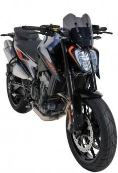 Ζελατίνα Duke 790 Ermax Κοντή 2018-2020 KTM Σκούρο Φιμέ 31cm