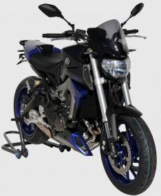 Ζελατίνα MT 09 Ermax Κοντή 2014-2016 Yamaha Σκούρο Φιμέ 33cm
