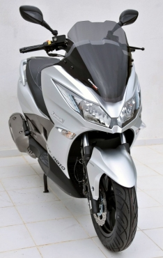Ζελατίνα J 125/300 Ermax Κοντή 2014-2020 Kawasaki Σκούρο Φιμέ 50cm