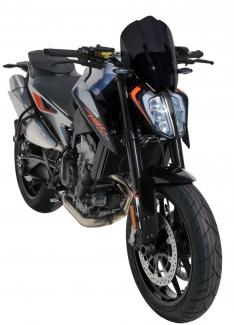 Ζελατίνα Duke 790 Ermax Κοντή 2018-2020 KTM Σκούρο Φιμέ 32cm