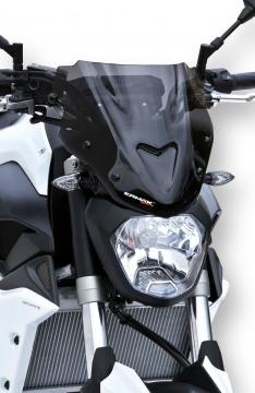 Ζελατίνα MT 07 Ermax Κοντή 2014-2017 Yamaha Σκούρο Φιμέ 27cm