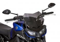 Ζελατίνα MT 09 Ermax Κοντή 2017-2020 Yamaha Σκούρο Φιμέ 29cm