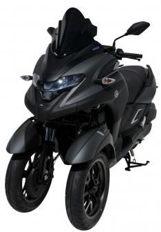 Ζελατίνα Tricity 300 Ermax Κοντή 2020-2021 Yamaha Σκούρο Φιμέ 39cm