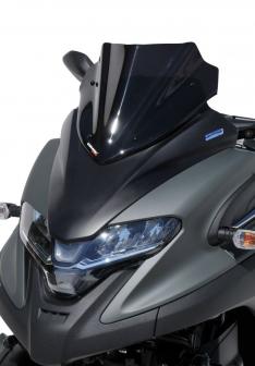 Ζελατίνα Tricity 300 Ermax Κοντή 2020-2021 Yamaha Σκούρο Φιμέ 30cm