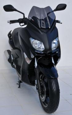 Ζελατίνα X Max 250 Ermax Κοντή 2010-2013 Yamaha Σκούρο Φιμέ