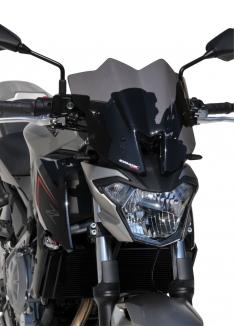 Ζελατίνα Z 650 Ermax Κοντή 2017-2019 Kawasaki Σκούρο Φιμέ 29cm