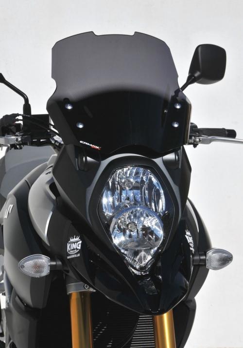 Ζελατίνα DL 650 V-Strom Ermax Κοντή 2017-2020 Suzuki Σκούρο Φιμέ 36cm