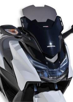 Ζελατίνα Forza 125 Ermax Κοντή 2015-2018 Honda Σκούρο Φιμέ 30cm