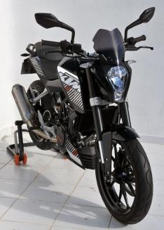 Ζελατίνα Duke 125 Ermax Κοντή 2011-2016 KTM Σκούρο Φιμέ 22cm