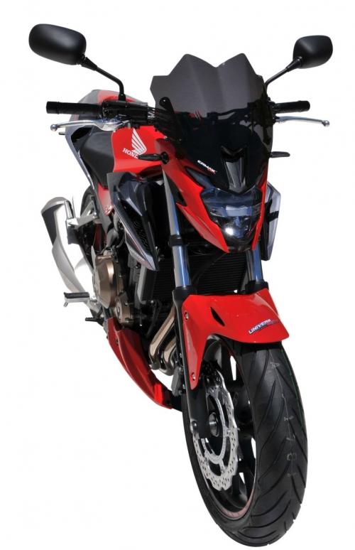 Ζελατίνα CB 500F Ermax Κοντή 2016-2018 Honda Σκούρο Φιμέ