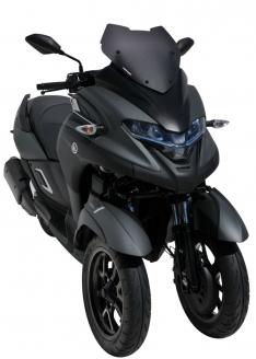 Ζελατίνα Tricity 300 Ermax Κοντή 2020-2021 Yamaha Σκούρο Φιμέ 41cm