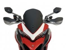 Ζελατίνα Multistrada 950 WRS 2017-2021 Ducati Matt Black Κοντή