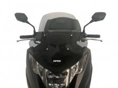 Ζελατίνα Integra 700/750 2012-2019 WRS Honda Smoke Κοντή