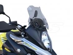 Ζελατίνα DL 650 V-Strom 2017-2021 WRS Suzuki Smoked Κοντή