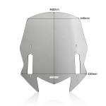 Ζελατίνα TMAX 560 2020-2021 WRS Yamaha Smoked Original