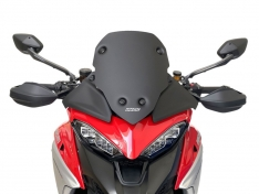 Ζελατίνα Multistrada V4 / S 2020-2021 WRS Ducati Matt Black Sport 39cm