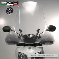 Ζελατίνα Xenter 125-150 Biondi Ψηλή 2011-2016 Yamaha Διάφανη 70x70cm