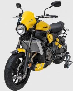 Ζελατίνα XSR 700 Ermax Κοντή 2016-2020 Yamaha Μαύρο Άβαφο Πλαστικό