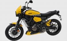 Προέκταση Μπροστινού Φτερού XSR 700 Ermax 2016-2020 Yamaha Μαύρη