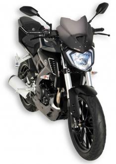 Ζελατίνα MT 125 Ermax Κοντή 2014-2019 Yamaha Σκούρο Φιμέ 27cm