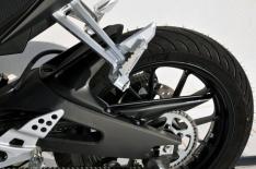 Φτερό Πίσω Τροχού YZF R 125 Ermax 2015-2018 Yamaha Μαύρο Άβαφο Πλαστικό