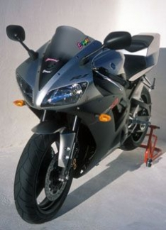 Ζελατίνα YZF R1 Κουρμπαριστή 2002-2003 Yamaha Σκούρο Φιμέ 43cm
