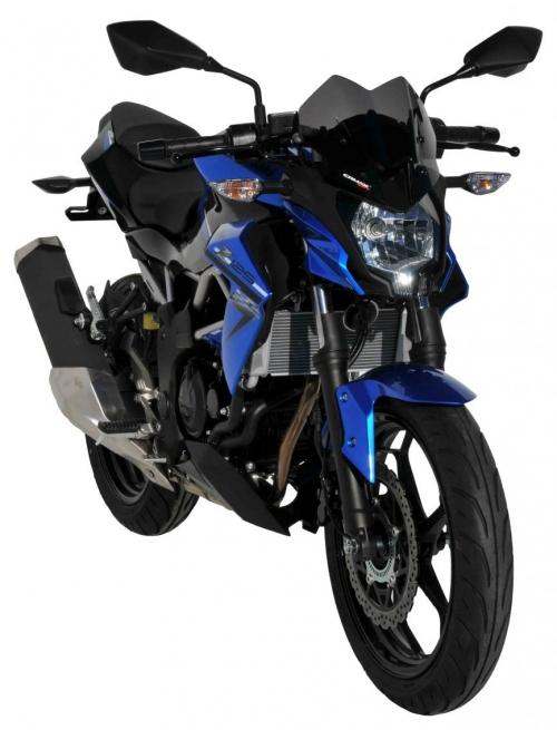 Ζελατίνα Z 125 Ermax Κοντή 2019-2020 Kawasaki Σκούρο Φιμέ 26cm