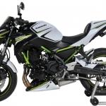 Μονόσελο Z 650 Ermax 2020-2021 Kawasaki Μαύρο Άβαφο Πλαστικό